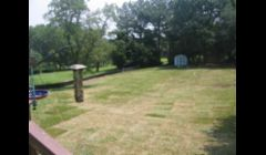 Completed New Septic System/Field back yard re sodded and looks like we were never there only 2 days after we started project  