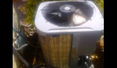 AC CONDENSER UNIT CLEANING OF A 3TON UNIT