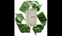 Recycling computer the responsible way.
