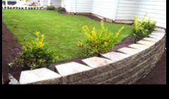 We not only specialize in maintenance programs, but also full landscape installs, including masonry and retaining walls.