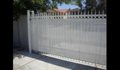 Ornamental sliding gate