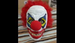 Evil Clown. Hand Sculpted & Painted.