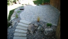 Our work: stone patio
