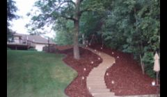 Our work: outdoor stone staircase