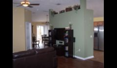 Interior Painting Jacksonville: This was an interior repaint from the construction bone to specified colors.