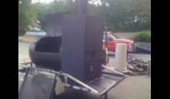 BBQ Smoker side picture