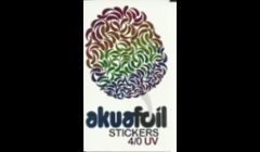 akuafoil sticker printing is so fun!