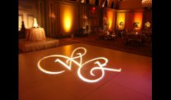 Custom light monograms