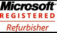 We are Microsoft Registered Refurbishers and take refurbishing very seriously.  We only resell refurbished computers that meet Microsoft's requirements and are in great shape!