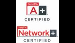 Our technician is CompTIA A+ and Network+ certified through 2015.