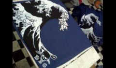 Waterbased Oversized Screen Printing