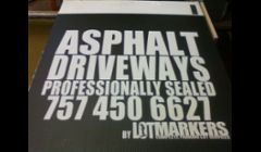 Screen Printed Coroplast yard signs