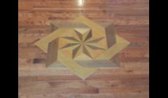 contractor Hardwood flooring  Rich Hardwood floors Medallions Inlays Installed