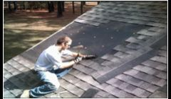 Company certified roofers