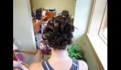 Wedding Up Do.