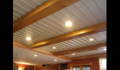 Beam and Batton Board Ceiling