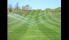 Sprinkler Irrigation Installation on Golf Course