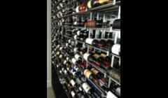 Wine & Spirit Rack/Display - Polished Aluminum/Stainless - Miami