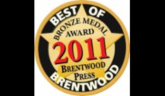 The locals voted us Best of Brentwood in 2011. Thank you to those who voted for us!