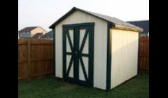 Ranch Style Storage Shed