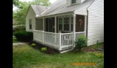 Extended porch out and added composite railing.\n