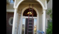 Replacement of Arch Window above the front door