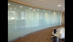 Frost film 3M Fasara local law office conference room.