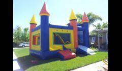 4in1 bounce house. Has a jumper climb slide combo