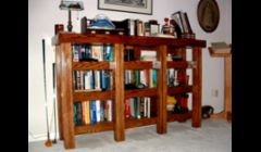 A beefy book shelf.