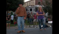 Jennifer & Boogie @ The Fall Festival 2 Years ago I Ran Sound for their Concert