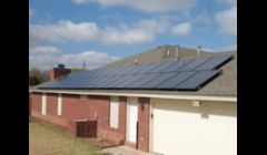 solar electric installation