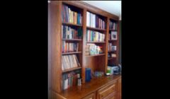 Custom built-in bookcases