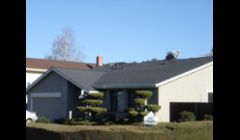 roof replacing - composition shingles