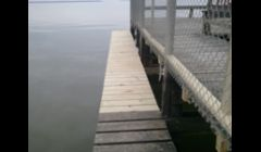 repair on damaged pier