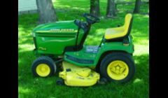 Sales of used lawn equipment